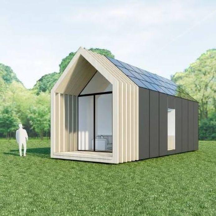 Tiny House Oud-Beijerland. Niels van der Jagt wil het ontwikkelen