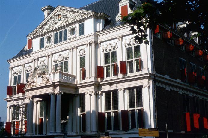 Het Schielandhuis op een oude foto.