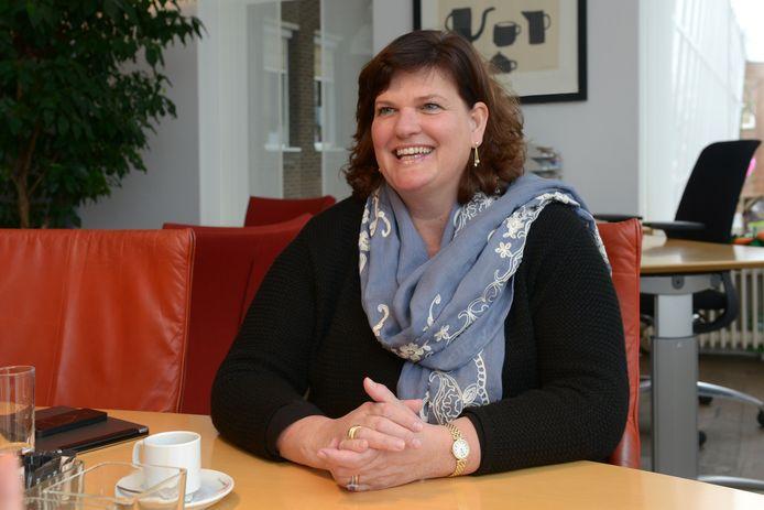 Burgemeester Marina Starmans van de gemeente Dongen.