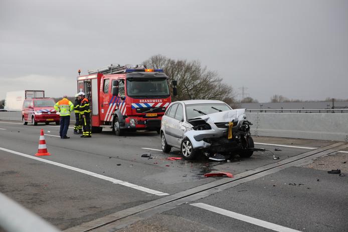Ongeluk op A58