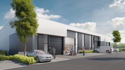 Twintig nieuwe bedrijfsgebouwen op Het Looi
