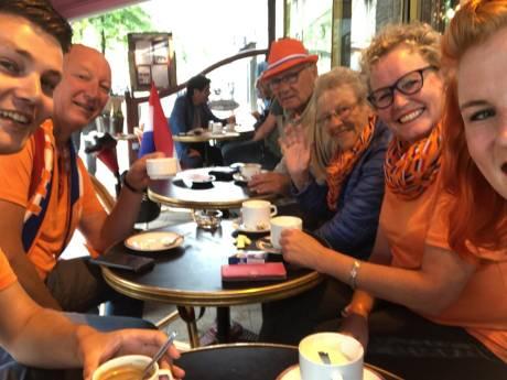De vakantie van familie Kerkdijk uit Olst mag nog lang duren, liefst tot en met de WK-finale