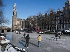Wanneer kunnen we schaatsen op de Amsterdamse grachten?