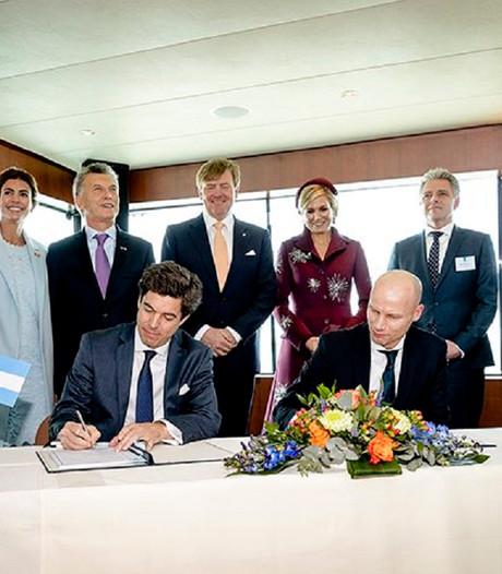 Bedrijven in havens Rotterdam en Buenos Aires bundelen krachten