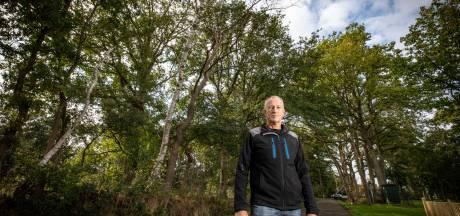 Denekamper Henk Blokhuis vreest de vele dode bomen langs de weg: 'Dit is levensgevaarlijk!'