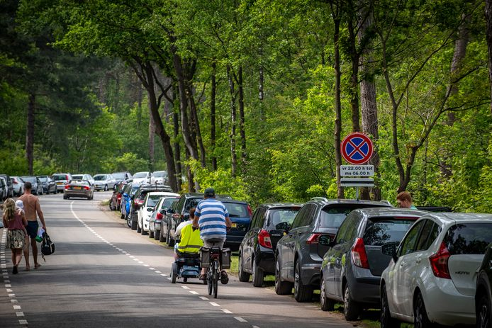 In de toekomst betalen voor het parkeren op de Bergsche Heide?