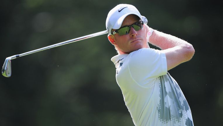 De Engelse golfer Simon Dyson. Beeld getty