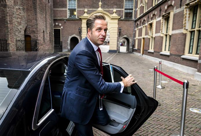 Hugo de Jonge, minister van Volksgezondheid, Welzijn en Sport. De Zeeuwse gemeenten willen van hem meer geld voor de jeugdhulp.