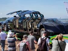 Record aantal auto's op Nationale Oldtimerdag Lelystad