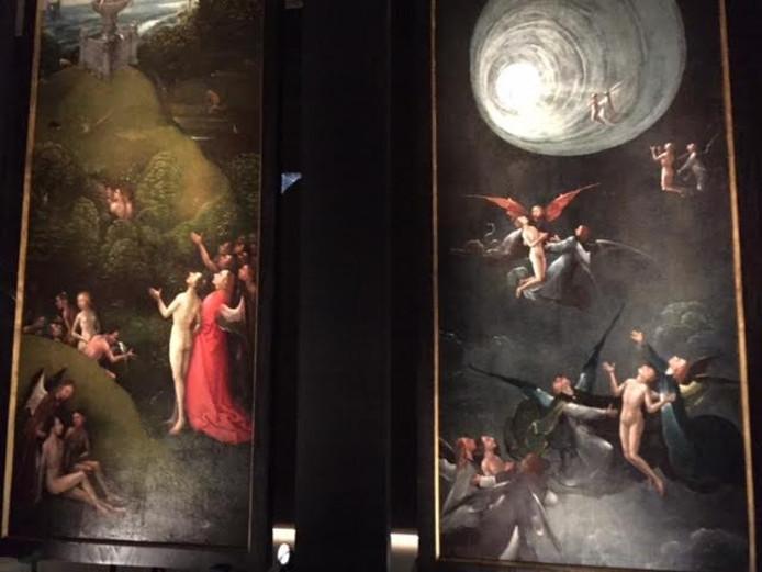 Prominente plek op expo voor Visioenen van het Hiernamaals uit Venetië werk van Bosch.