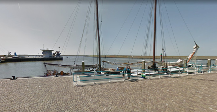 De haven van Harlingen