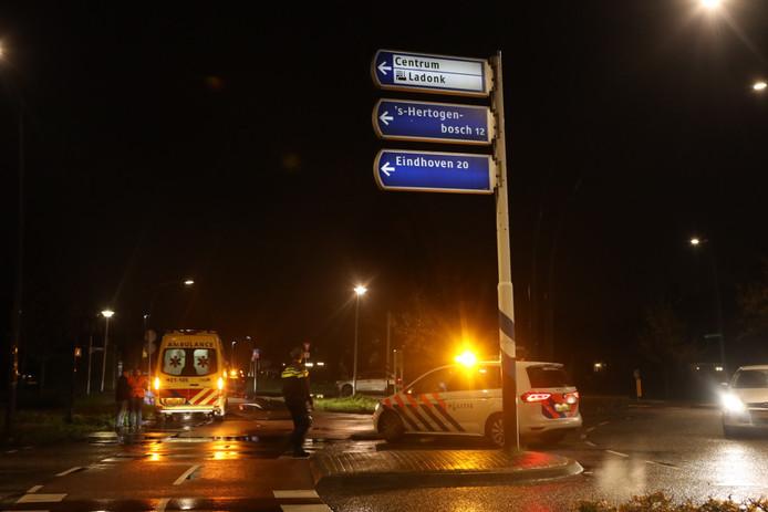 Voetgangsters aangereden door auto op rotonde aan de Schijndelseweg in Boxtel