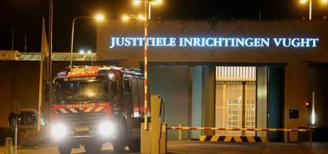 Celbrand in PI Vught: gevangene met spoed naar ziekenhuis