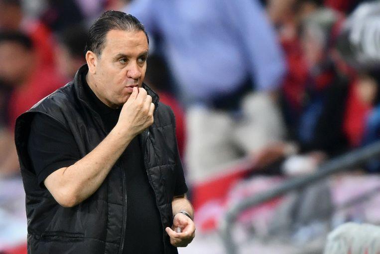 De Tunesische bondscoach Nabil Maaloul.
