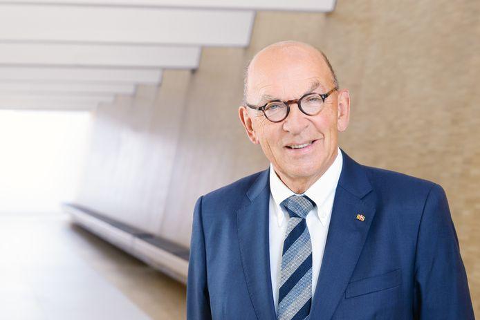 Professor Hugo van Aken van de Universiteitskliniek in Münster.