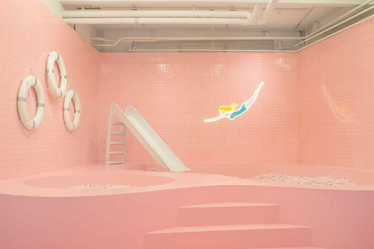 Wondr, 'de artistieke speeltuin voor volwassenen'.  Beeld Annabel Miedema
