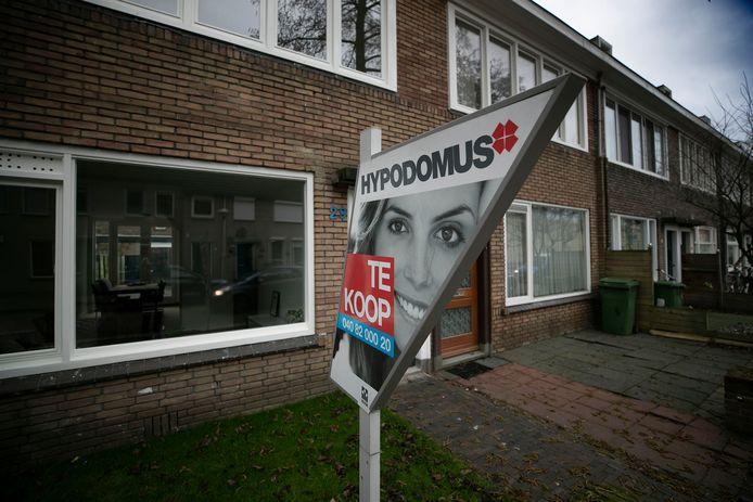 Te koop, huis in Eindhoven (archieffoto)