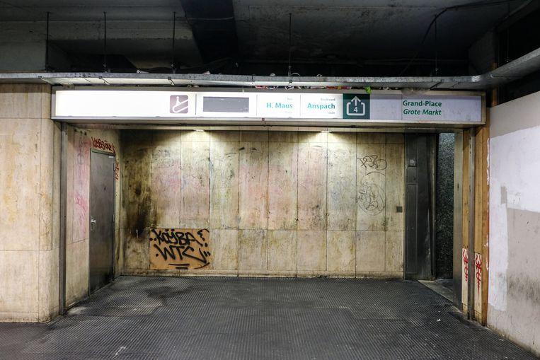 oude metrostation Beurs