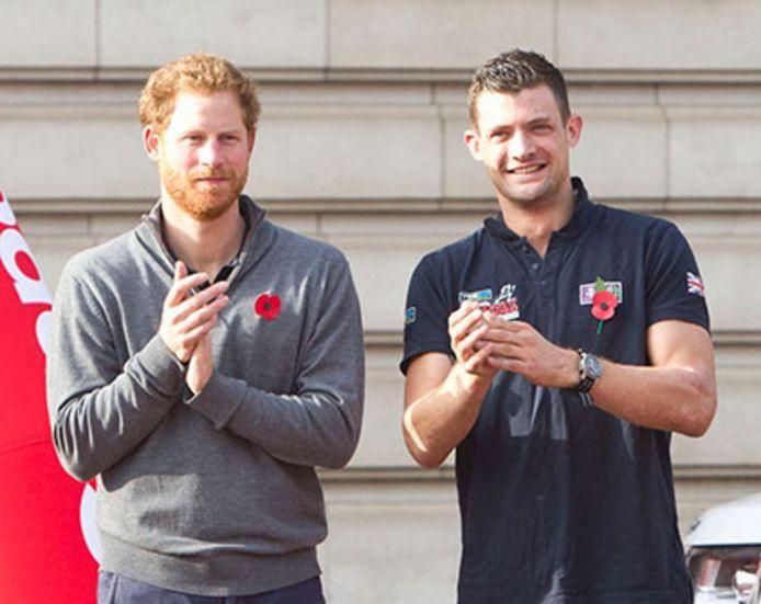 Prins Harry en boezemvriend Jules Roberts.