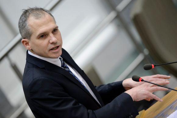 Matthias Diependaele (N-VA), Vlaams minister van Financiën.