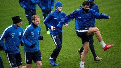 Chakvetadze traint met de groep