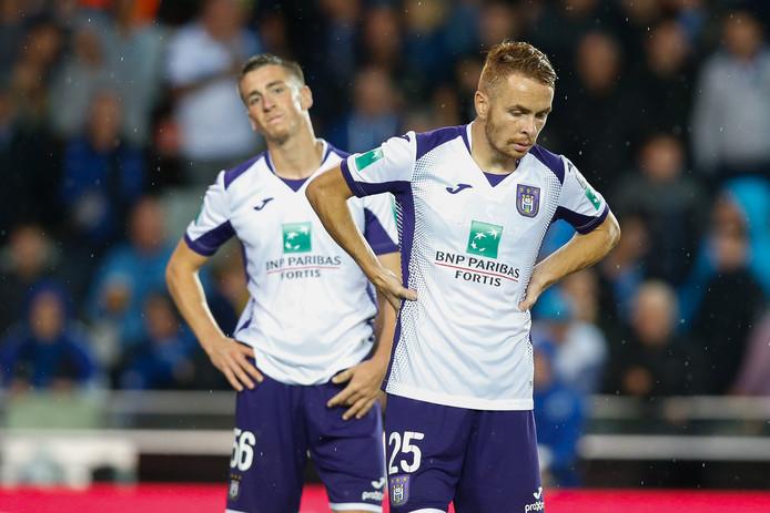 Spelers van Anderlecht.
