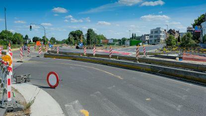 AWV herstelt maand lang betonplaten op Leuvensesteenweg