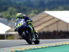 Motorcoureur Rossi gewond door ongeluk bij training