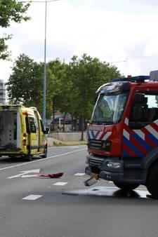 Politie en brandweer botsen bij uitruk, agent gewond