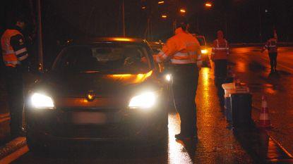 Negen dronken autobestuurders betrapt