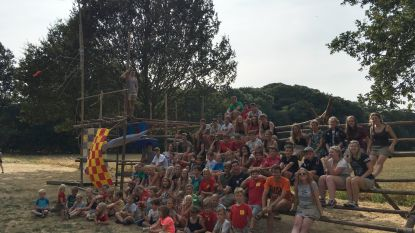 Chiro Sint-Katrien op kamp in Brecht