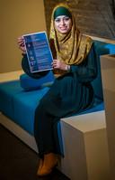 Zarina Ardjoen, winnaar CV van het Jaar 2018.