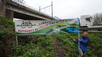 """""""Kan er eindelijk werk gemaakt worden van fietsbrug over E19?"""""""