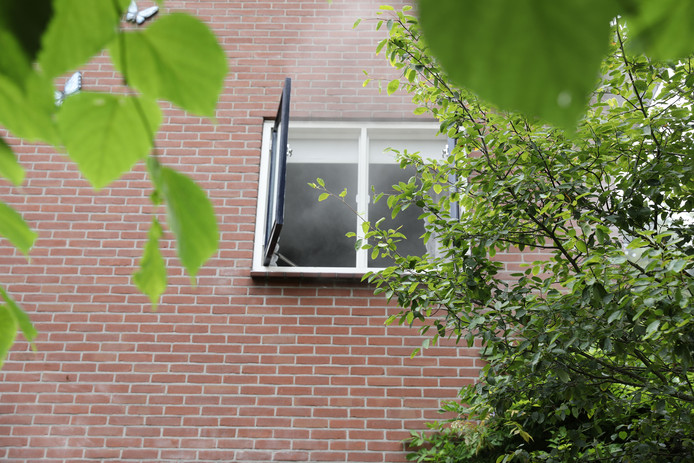 Brand in slaapkamer van woning aan Hardenbergerweg in Ommen.