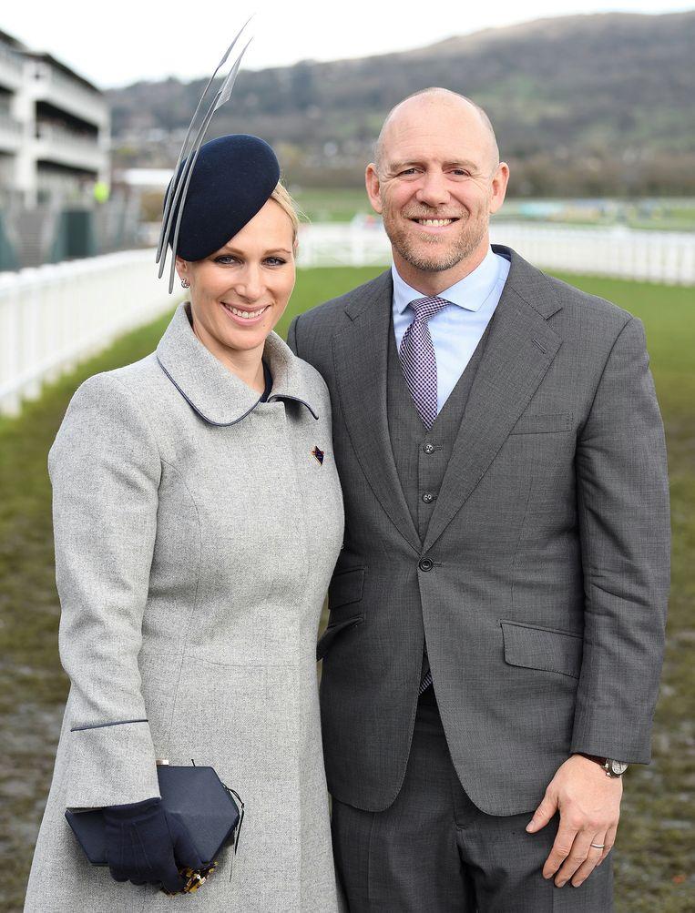 Zara en Mike Tindall