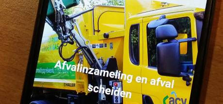 Nieuwe app om te zien wanneer ACV welk afval ophaalt