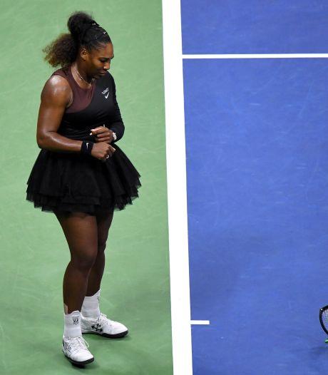 Tierende Serena snapt niets van 'seksistisch' besluit umpire
