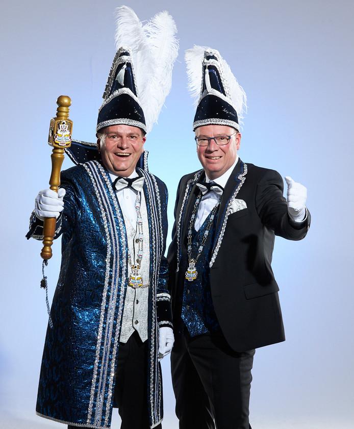 De Papsleef'n uit Geesteren heeft een nieuwe prins en adjudant.