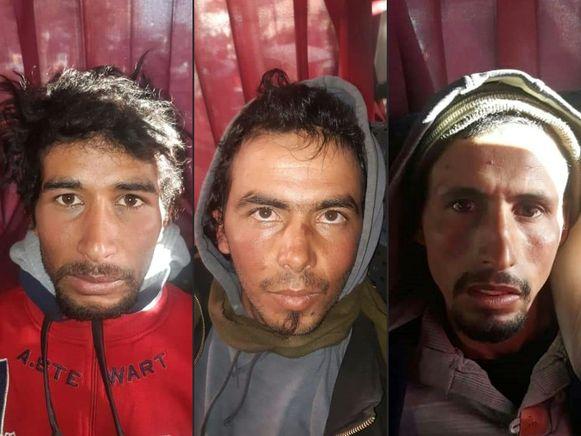 VLNR: Rachid Afatti, Younes Ouziyad en Ejjoud Abdessamad.