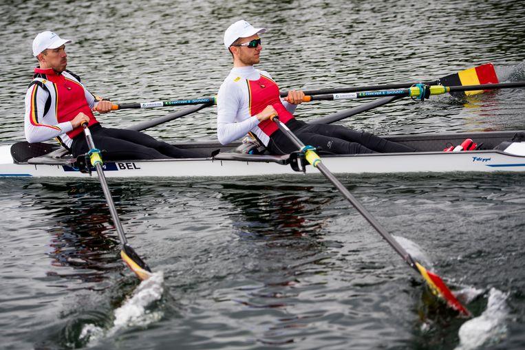 De lichte dubbeltwee Tim Brys en Niels Van Zandweghe moeten op het WK top7 halen om zich rechtstreeks te kwalificeren voor Tokio 2020.