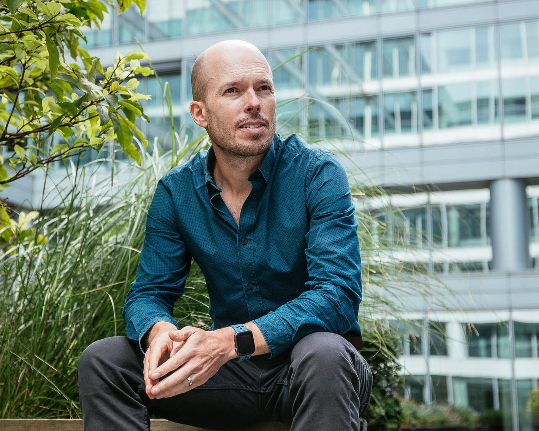 Tom Van de Weghe: 'Ik ben geschrokken hoe de grootste experts in artificiële intelligentie, en in het bijzonder deepfake video's, het gevaar van dit soort media niet inzien.' Beeld Thomas Nolf