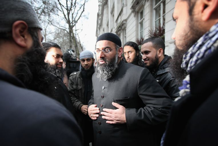 Anjem Choudary in 2010.