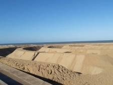 Zandlandschap met Ringen aan Zee 'wordt een hit'