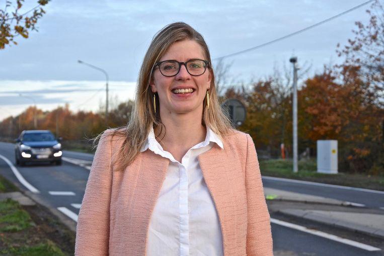Katrien Sobry van CD&V is geen voorstander van de trajectcontrole in haar huidige vorm.