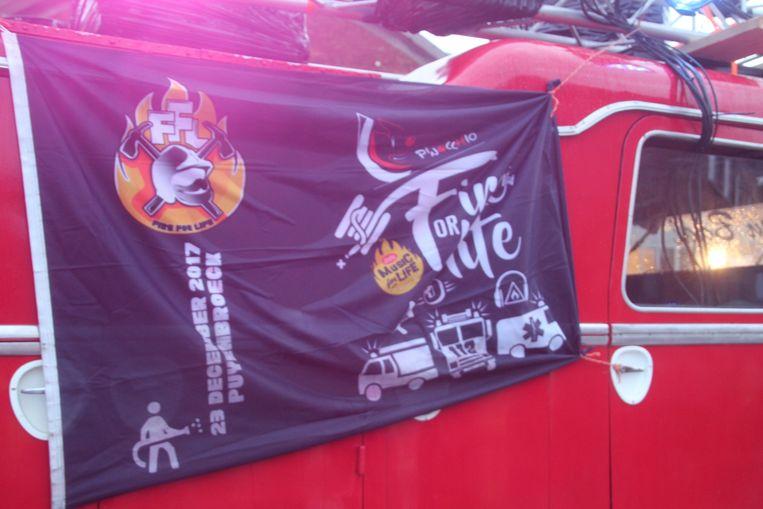 De Hulpverleningszones Zuid-Oost en Oost sloten aan bij Fire For Life.