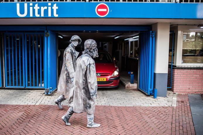 living statues Arnhem 2019 de parade op zaterdag van de winnende act van voorgaande jaren