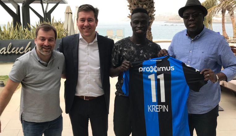 Bayat had ook een hand in de transfer van Krépin Diatta naar Club.