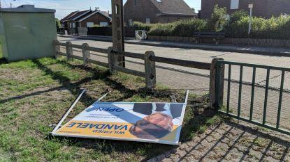 """Vandalen viseren verkiezingsborden Wilfried Vandaele (N-VA): """"Borden van andere partijen worden gespaard"""""""