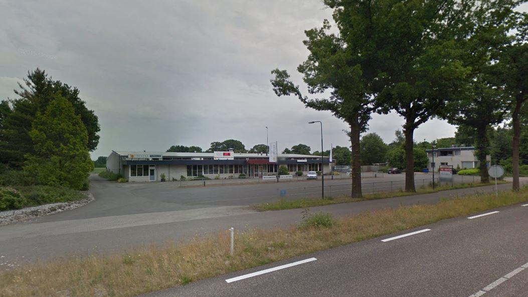 De oude OAD-garage aan de Udenseweg in Zeeland.