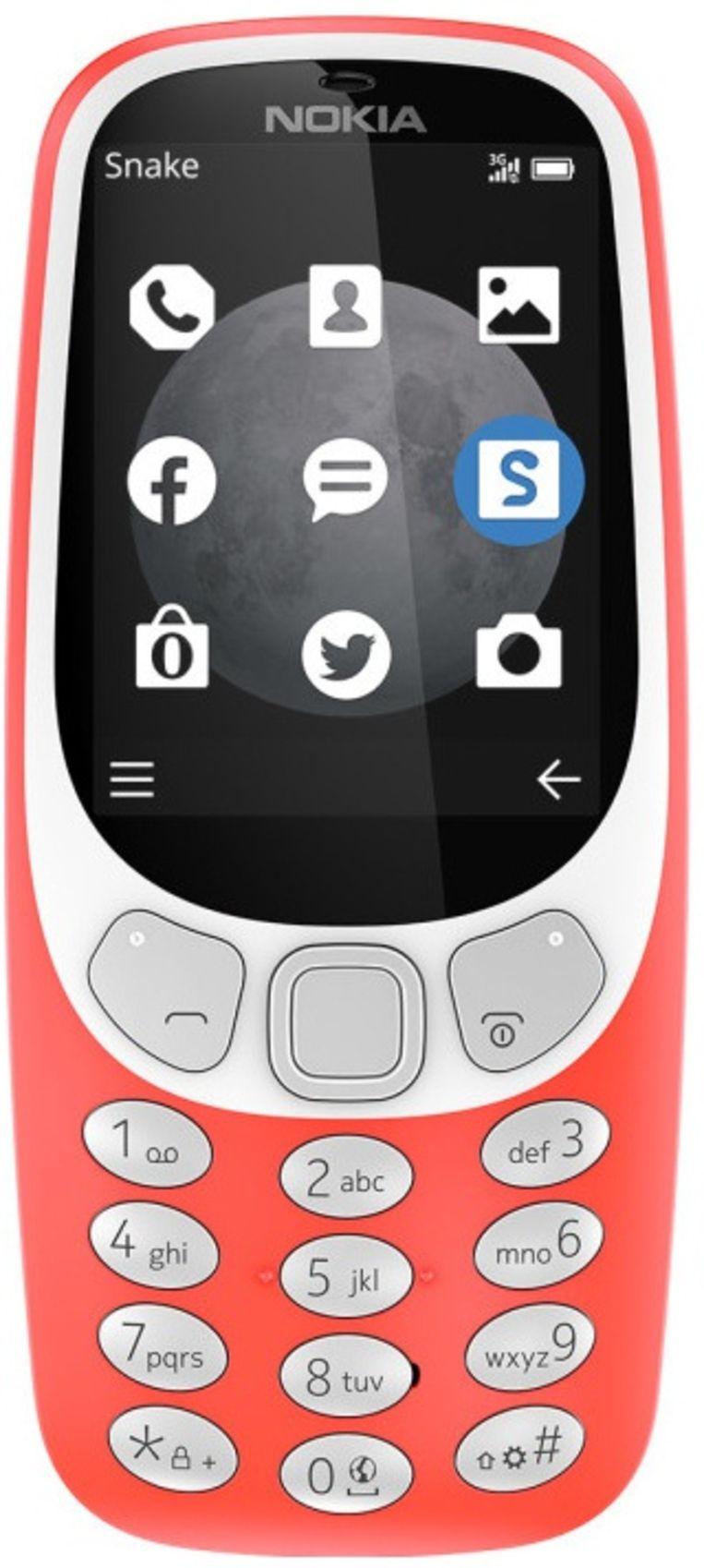 De teruggekeerde Nokia 3310.